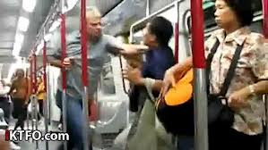 blog subway fight