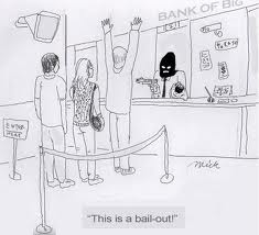 blog bank bail out